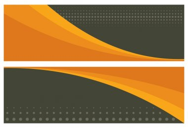 Abstract banners (headers)