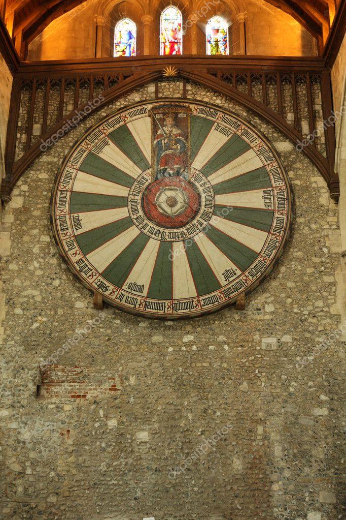 Ronde Tafel Koning Arthur.King Arthur De Rondetafel Stockfoto C Aralplus 6109037