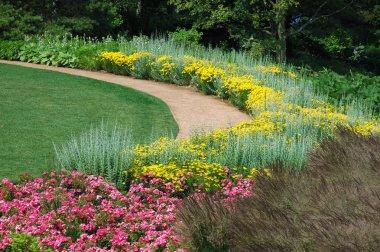 Tranquil garden path