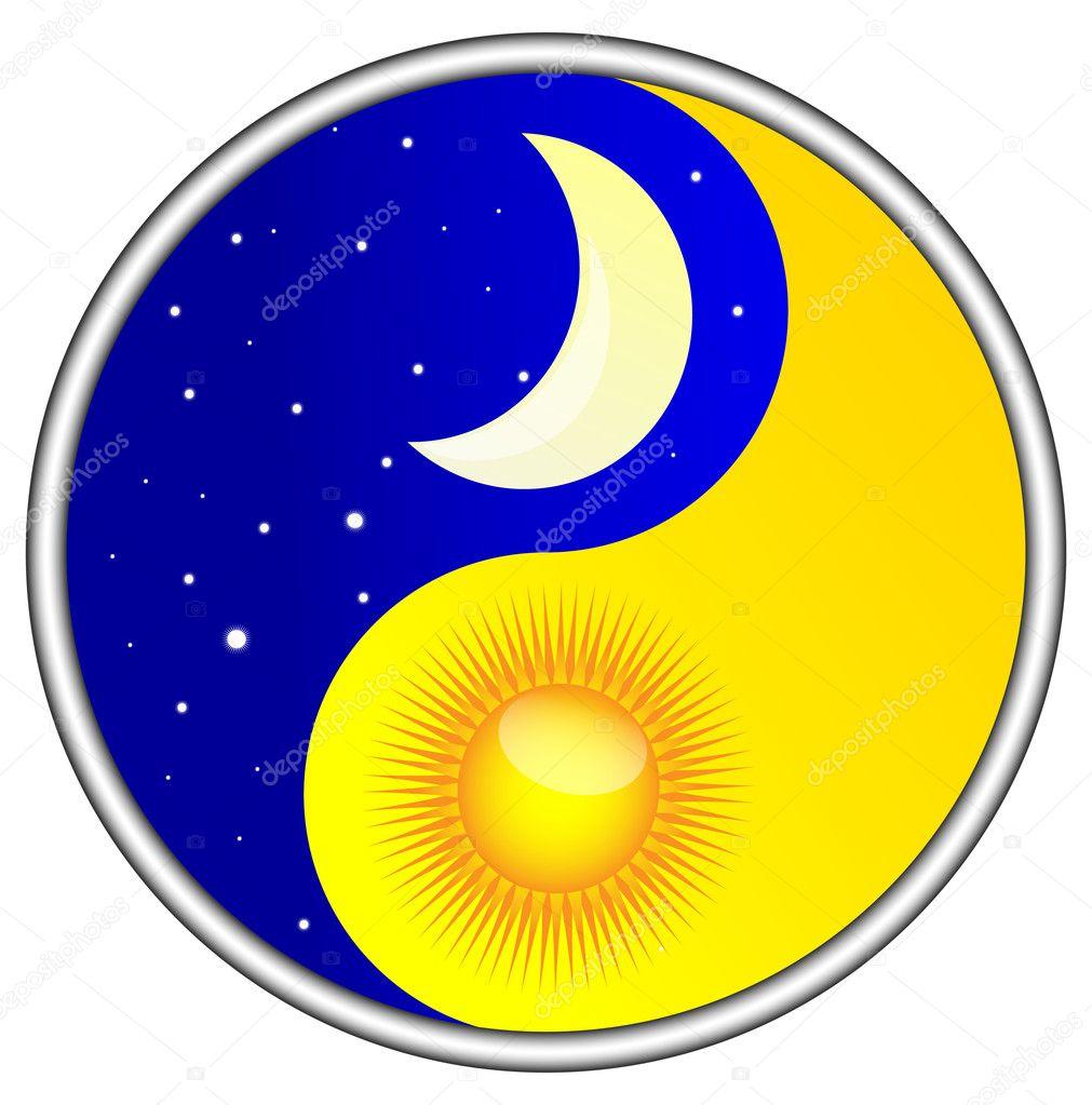 Day and night Yin and Yang