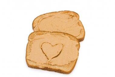 Liking peanut butter toast