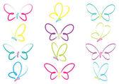 motýlů