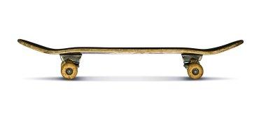 Skateboard stock vector