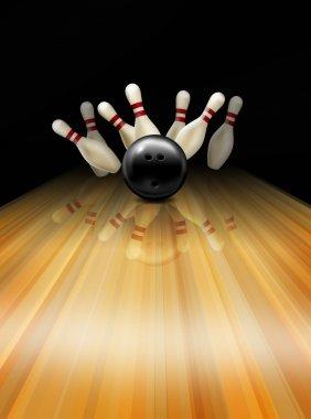 Tenpin bowling alley