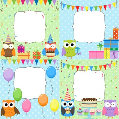 Birthday Party cards