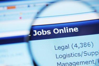 Internet jobs