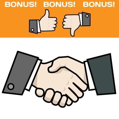Handshake with bonus