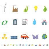 Fényképek Eco szimbólumok és ikonok