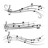 Fotografia note musicali