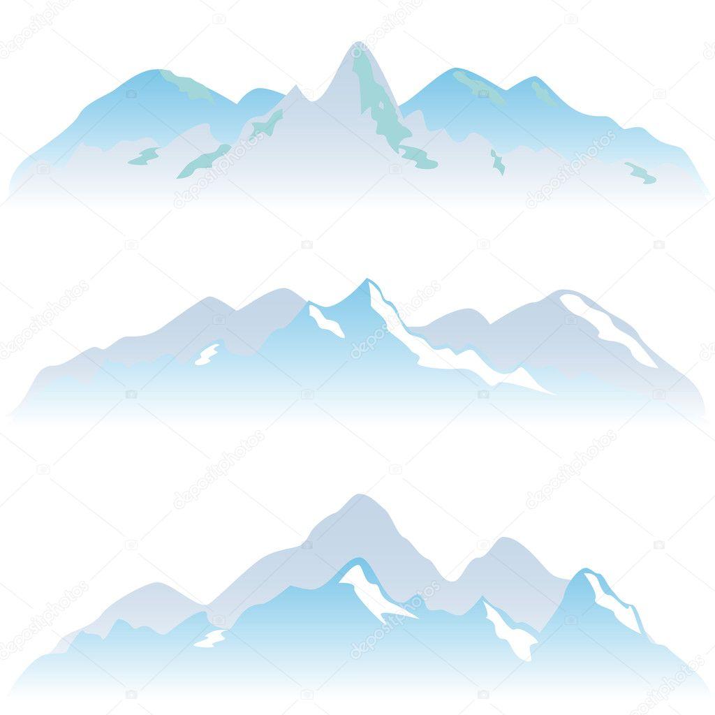 Sommets De Montagne Enneigee Photographie Soleilc C 6467815
