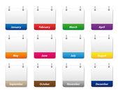 Fotografie Calendar icons