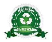 recyklovatelné znamení