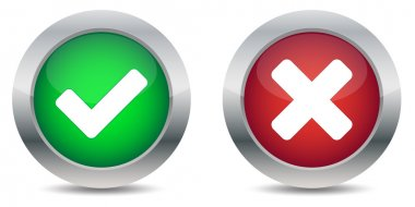 Approved and rejected button