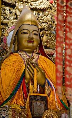 Zhong Ke Ba Details Yonghe Gong Buddhist Temple Beijing China