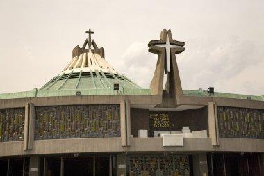 Modern Basilica, Guadalupe Shrine, Mexico City