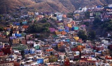 Many Colored Houses Guanajuato Mexico