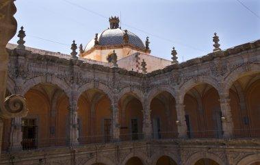 Church Art Musem Orange Arche Courtyard Queretaro Mexico