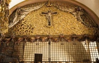 Nuns Balcony Santa Clara Church Convent Queretaro Mexico