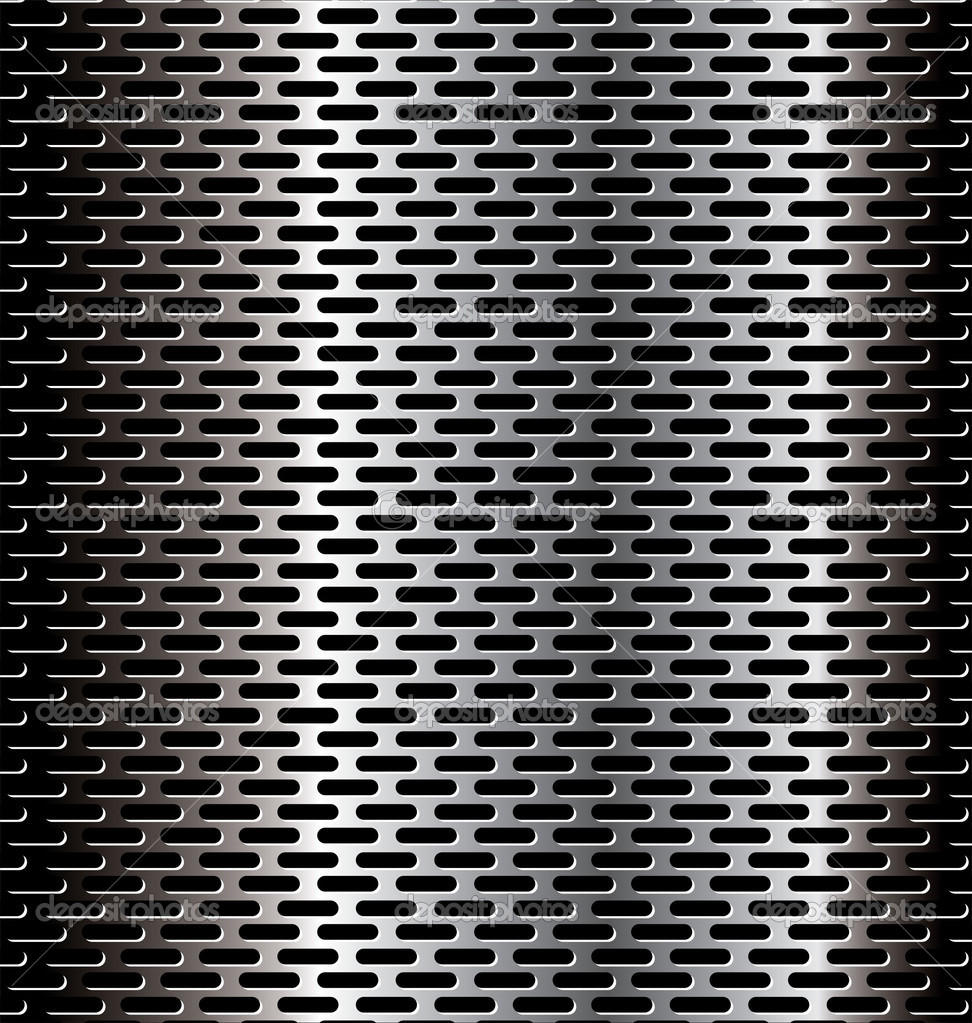 Perforated Metal Background Stock Vector 169 Creative 4m