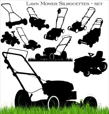Lawn mower set