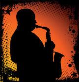 Jazzmusiker Hintergrund