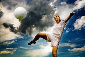 Fotbal dívka