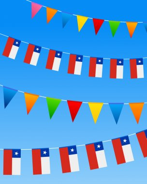Chile Bunting flags