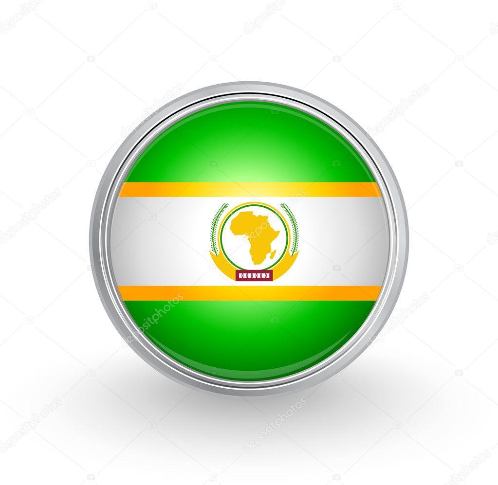 アフリカ連合の旗 — ストックベ...