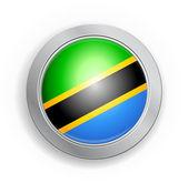 Tlačítko příznak sjednocená republika Tanzanie