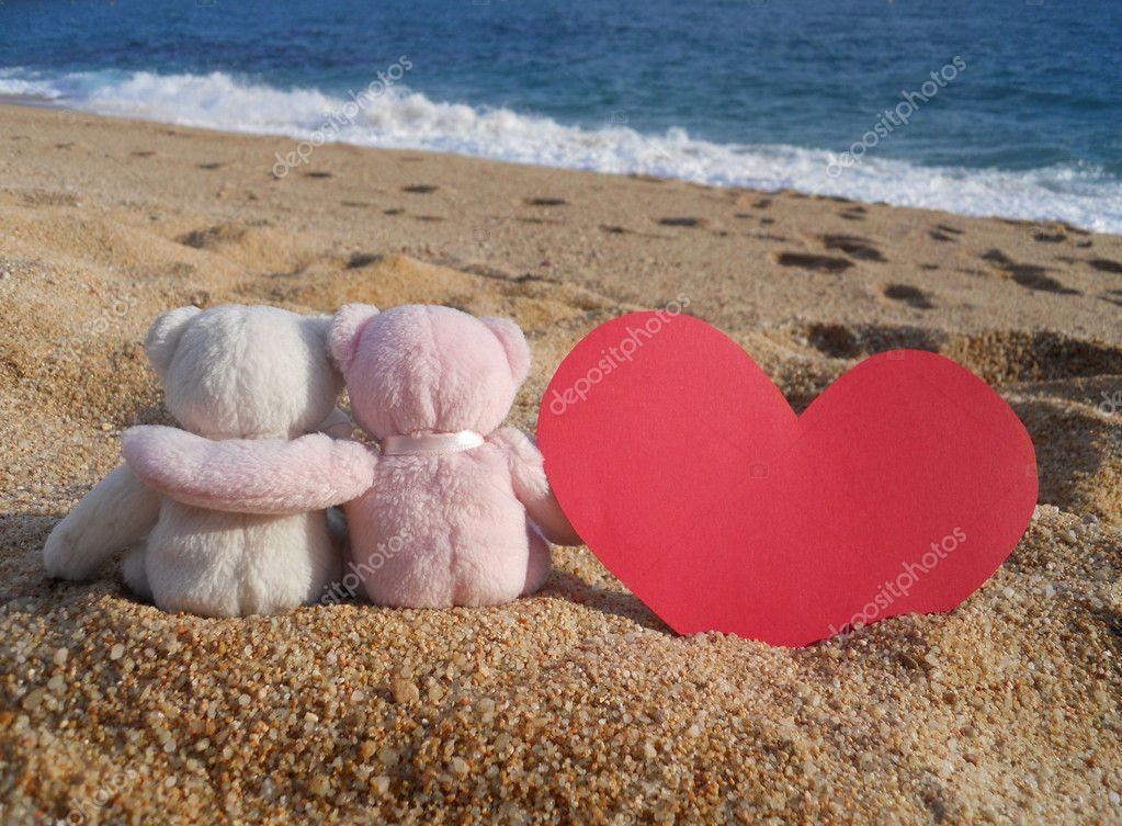 Teddy bears romance