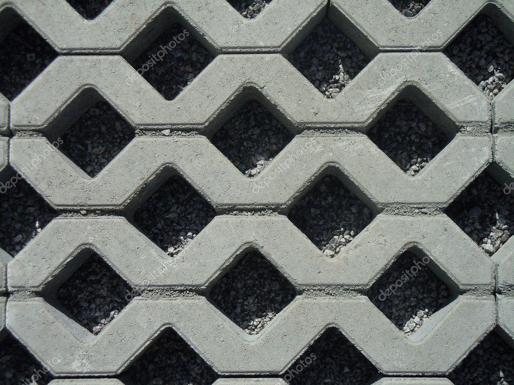 Pavimentazione di piastrelle ad incastro foto stock - Piastrelle ad incastro ...