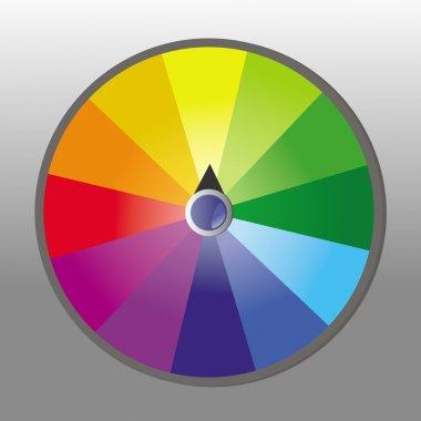 Wheel of fortune stock vector