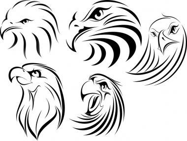 Eagle Face set 1
