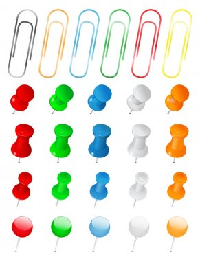 Push Pins and Paper Clips