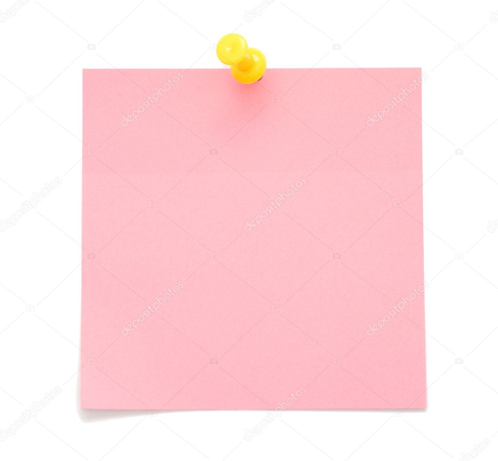 blank pink post it note stock photo  u00a9 human 306 6607780 blue sticky note clipart sticky note clip art black and white