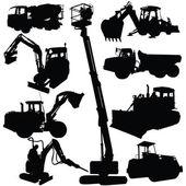 Fotografie Construction machine vector