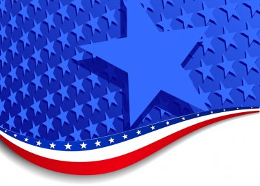Stars & Stripes with Single star