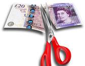 Peníze řez
