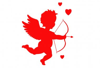 Cupid silhouette