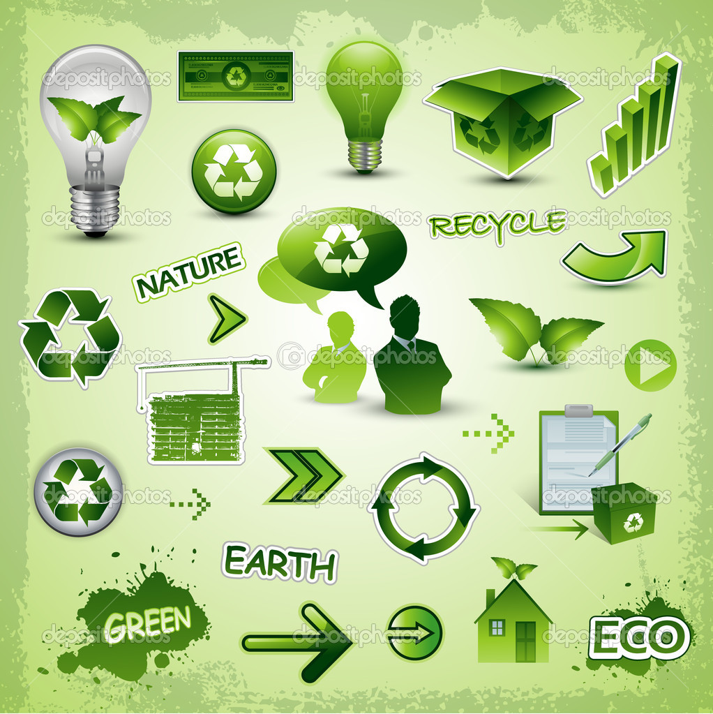 Environment recycle elements