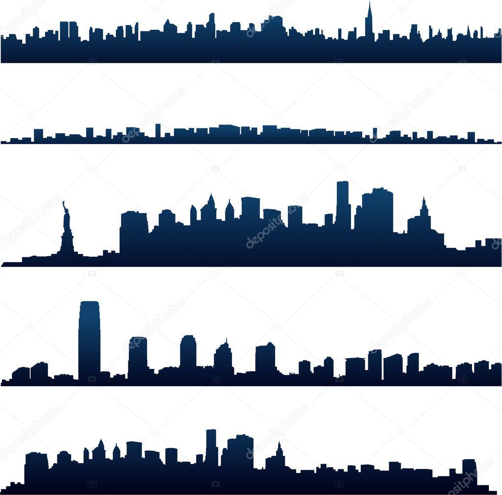 New york city skylines