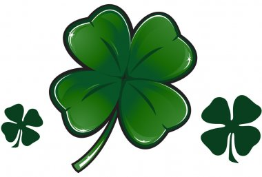 Clover leaf illustration