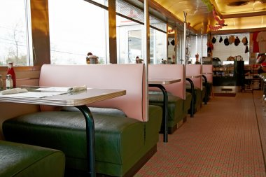 Old-fashioned roadside diner.