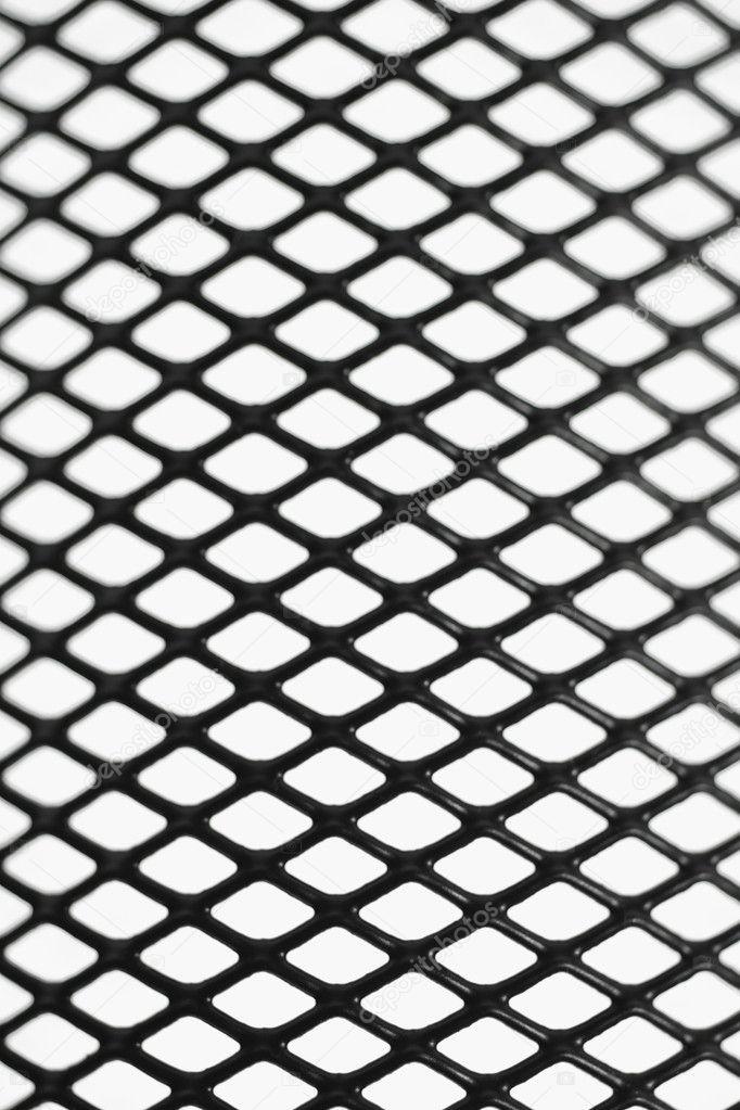 Black wire mesh pattern — Stock Photo © design56 #6136037