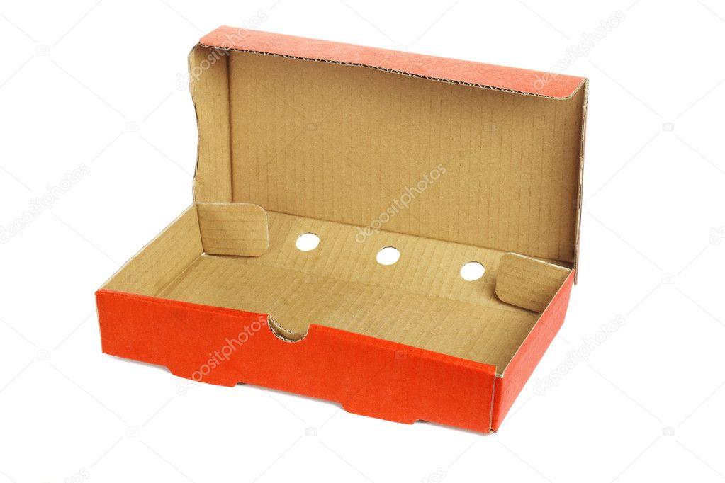 Takeaway pizza box