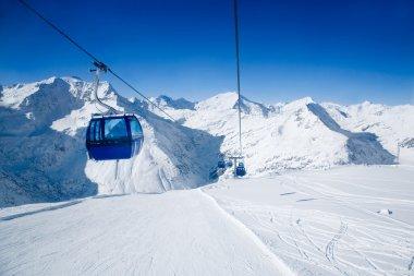 """Картина, постер, плакат, фотообои """"лыжный курорт"""", артикул 6085528"""