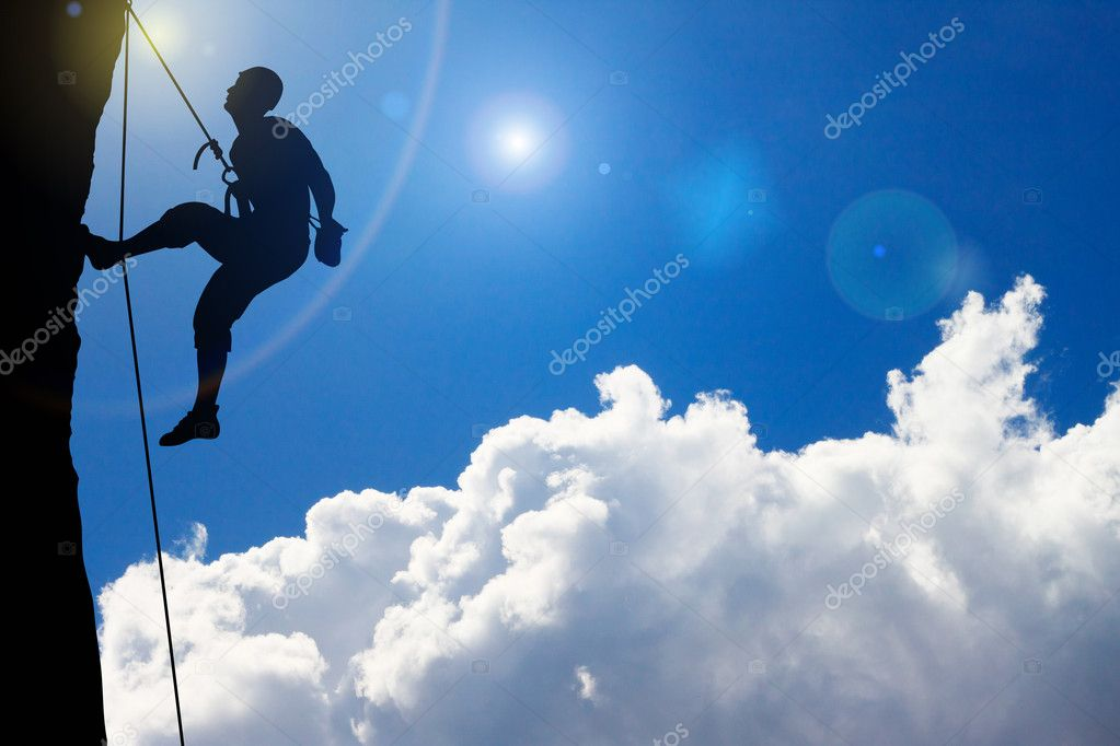 Rock Climbing on cloud