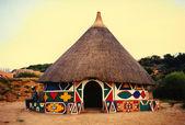 africké chýši