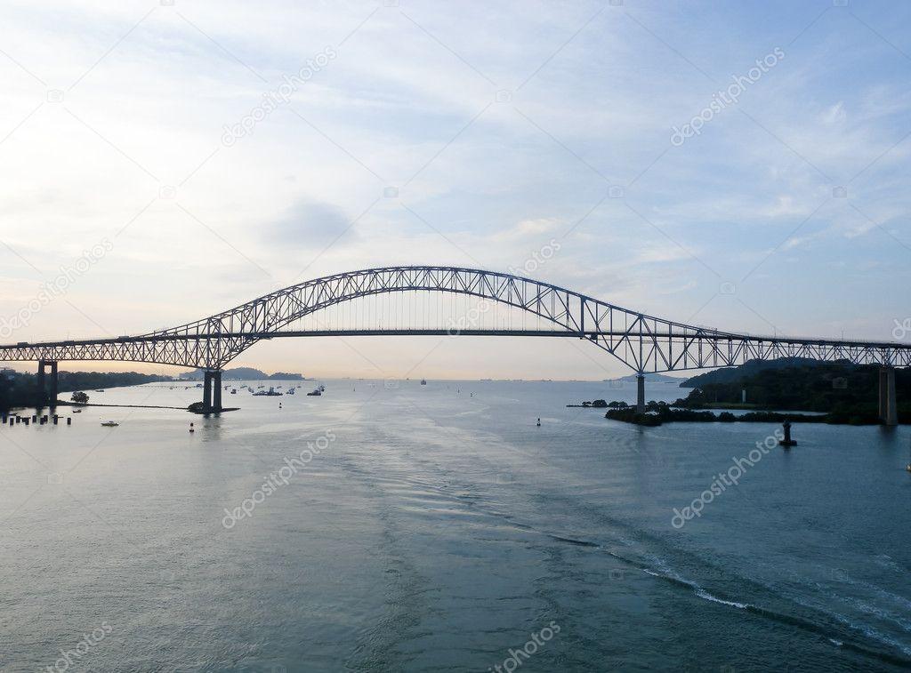 First Trans-american bridge in Panama