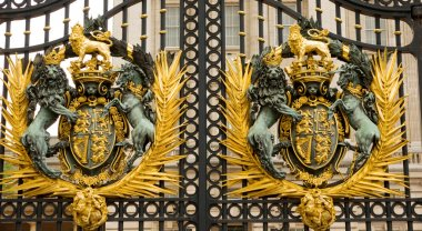 The Buckingham Palace gate, London, England